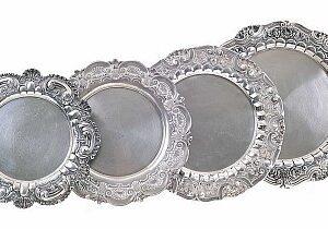Salvas em prata